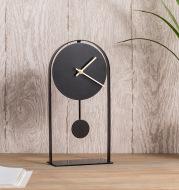 Modern Nordic Italian Style Wrought Iron Desk Clock Ornaments