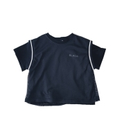 Boys' Short-Sleeved T-Shirts Loose Tops, Children'S Baby Letters, Hit The Color, Short-Sleeved Tide