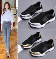 Women's Leather Comfortable Casual Single Shoes