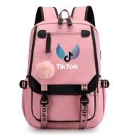 Casual backpack Tik Tok creative pattern