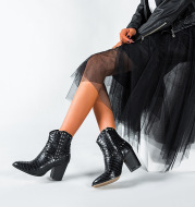 Europe And The United States 2019 Thick Heel Martin Boots Women