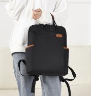 New Korean Fashion 15.6-Inch Computer Backpack Business Commuting Backpack Men'S Simple Waterproof Schoolbag Women'S