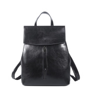 Oil Wax Leather Backpack Leather Handbags New Korean Fashion All-Match Leather Shoulder Bag