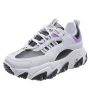 Large-size Trendy Color Matching Platform Sports Shoes