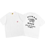 HUMAN MADE 20SS New Love Pocket T-Shirt Behind Polar Bear Bamboo Cotton Round Neck Couple Short Sleeve