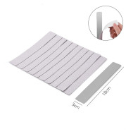 Nail Tools, Nail Rubbing Strip, Gray Surface Sanding Strip Combination, Strap Adhesive With Patch