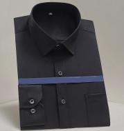 Work Clothes Mercerized Stretch Shirt Men