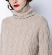 Sweater Thick Knitted Bottoming Shirt