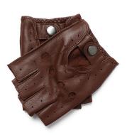 Sheepskin Short Finger Thin Men's Gloves