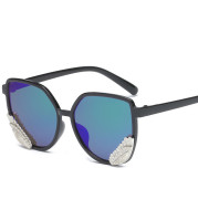 Star Fashion Wing Sunglasses 9774 Men'S And Women'S Transparent Colorful Jelly Angel Wing Sunglasses