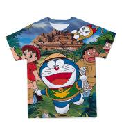 Children's T-Shirt Summer Doraemon Cute And Interesting