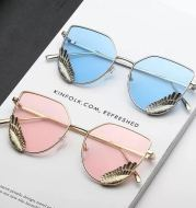 Angel Wings Wings Sunglasses Men And Women Same Glasses Korean Feather Sunglasses Fashion Trend