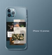 Suitable For IPhone12 Mobile Phone Case Apple 12ProMax All-Inclusive Pro Transparent Mini Creative Max Collage