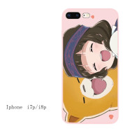 IPhone 7 Apple 6S mobile phone case 8plus lovely best friend 5S net red XR girl heart XS Japanese 11promax