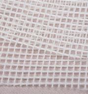 White Segment Crochet Cross Stitch Wool Ball Carpet Woven Mat Mesh Cloth