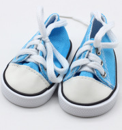 Shaf Doll Canvas Shoes American Doll Fashion Sneakers 18-inch Doll Strap Shoes Wholesale