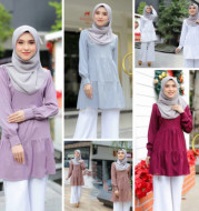 Manufacturer direct supply idodo new cross border Muslim women''s Middle East Malay top m2202