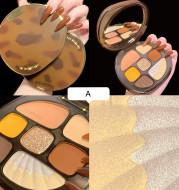 Eyeshadow Palette Pearlescent Matte Earth Color Eyeshadow Palette Makeup