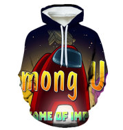 3D Digital Printing Casual Fashion Loose Men'S And Women'S Pullover Sports Hoodie Sweater