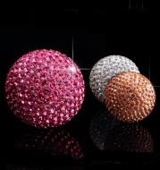 Car Pendant With Diamond Crystal Ball Car Interior Decoration