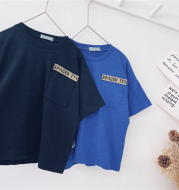 Spring And Summer Children's Korean Style Blouse Baby Foreign Style Short Sleeves