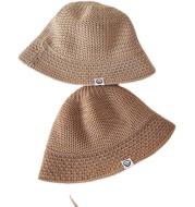 Clothing Spring And Autumn Children'S Sun Hat, Fisherman Hat, Boy Baby Sun Hat, Leisure Wild Woven Mesh Hat