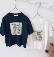 Korean Style Tops for Middle and Small Children