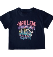 Boys Summer New Loose Casual Tops Children's All-match Printed Letters Short-sleeved T-shirt