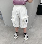 Summer Boys' Big Pocket Overalls, Children's Pants