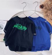 Short-sleeved Korean Baby Tops Children's Cotton T-shirts