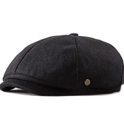 Foreign Trade New Style Men's Painter Hat Korean Fashion Cap British Retro Beret Octagonal Hat Female General