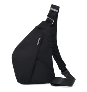 New Style Men's Chest Bag Messenger Bag Multifunctional Leisure Bag Shoulder Bag Wine Pouch Bag Anti-Lost Anti-Theft Bag