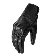 Warm Leather Padded Motorcycle Gloves
