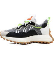 Messi Forrest Shoes Men's Trendy Shoes Breathable Retro Shoes Trifle Daddy Shoes Thick Bottom Increased Waffle Sneakers Running Shoes
