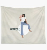 Home Interior Decoration Tablecloth Picnic Tapestry