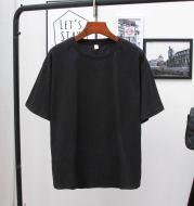 Women's Solid Color Loose Plus Size T-Shirt