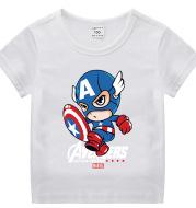 Captain America Kids Summer Short Sleeve