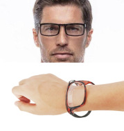High Quality Slap On Wrist Folding Reading Glasses Wrist Watch Glasses Magnet hanging neck to Carry Presbyopia Glasses 1.5 2.5