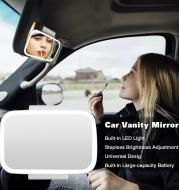 Car Indoor Led Makeup Mirror