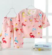 2021 New Summer Children's Pajamas, Cotton Silk