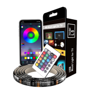 Color-Changing Usb Soft Light Strip Controlled By Mobile Phone App