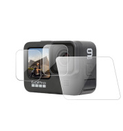 GoPro Hero9 Lens Film Front And Rear Screen Film HD Tempered Glass