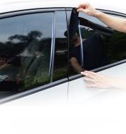 Mazda Angkesaila CX-30CX-3 Modified Car Window Trim PC Mirror Center Column Stickers