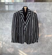 Men's Korean Style Light Luxury Mature Casual Suit Jacket