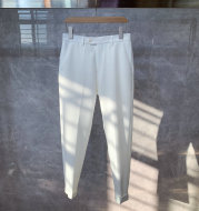 All-Match Non-Iron Straight-Leg Casual Trousers