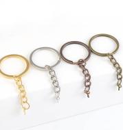Key Ring With Chain Alloy Sheep Eye Keychain