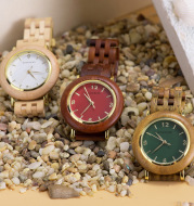 Stylish And Simple Temperament Wooden Watch