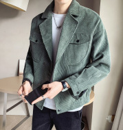 2021 New Corduroy Jacket Men's Spring And Autumn Jackets