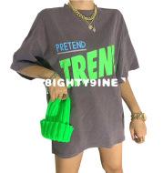 Ins Super Fire Short-Sleeved T-Shirt Women