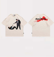 Vintage Printed Letters Classic Men's Short Sleeve T-shirt